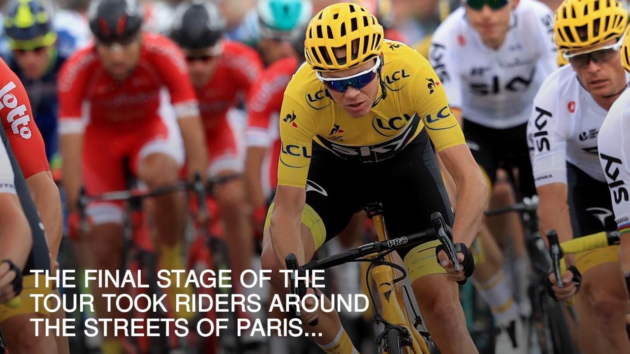 Tour de France 2018 Grand Départ LIVE: Chris Froome crashes