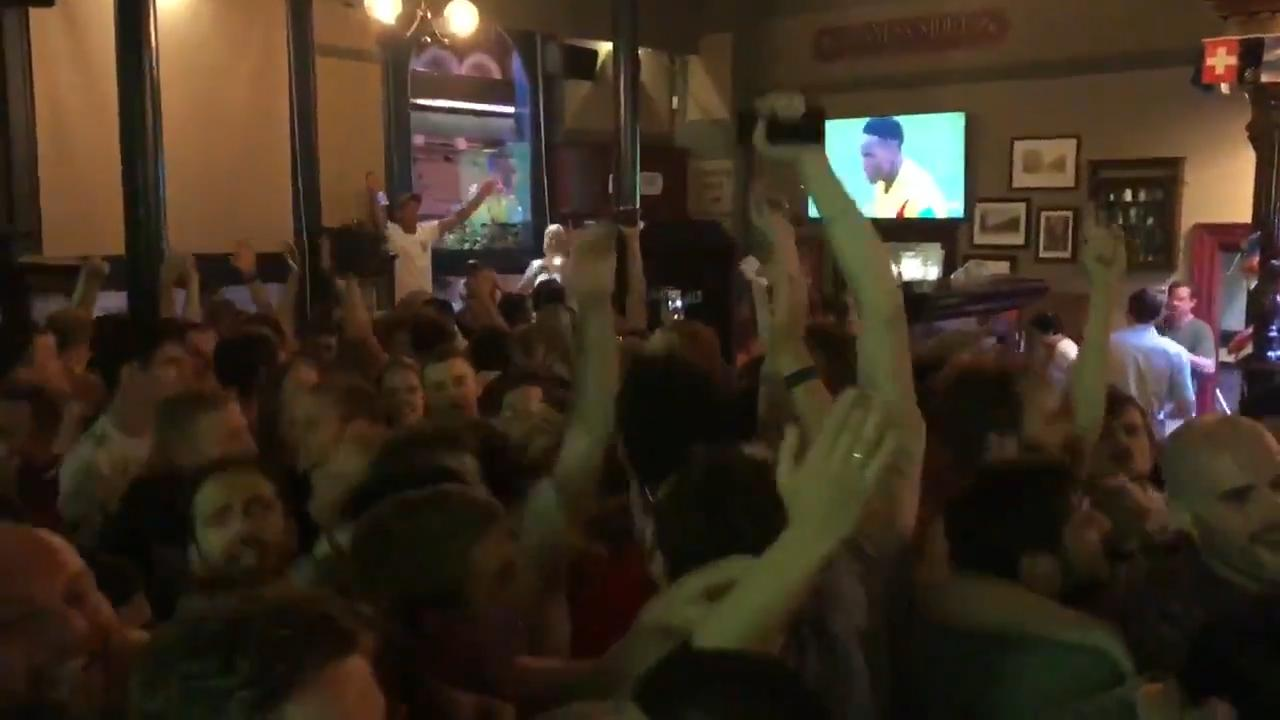049a9655443 It s Coming Home  England fans sing wrong lyric to Three Lions ahead of  World Cup quarter-finals