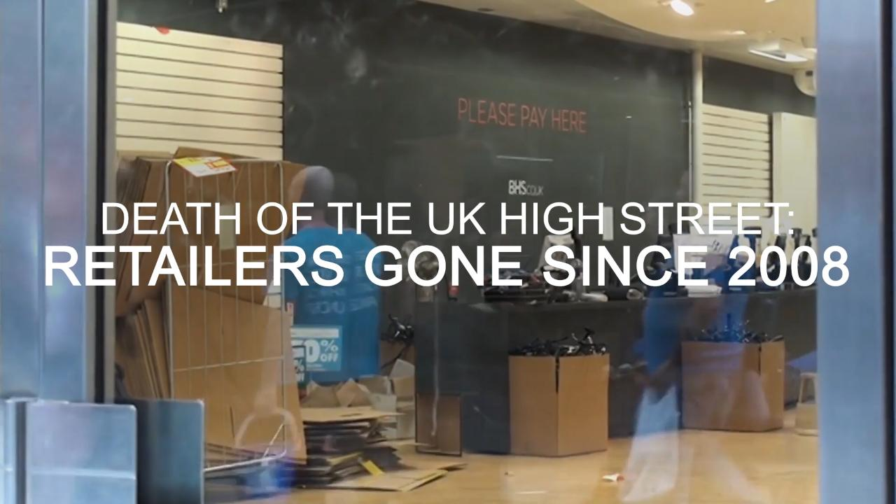 We are witnessing the death of the high street – but here's why we don't need to be sad about it