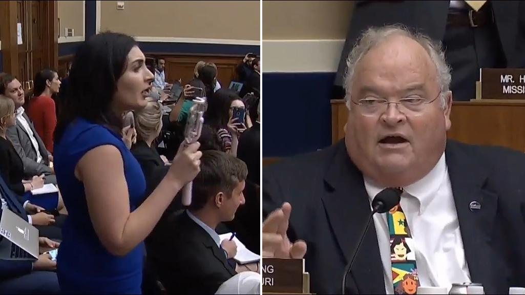 586e0f5220 Congressman drowns out conspiracy theorist Laura Loomer with auctioneer  skills at Twitter hearing