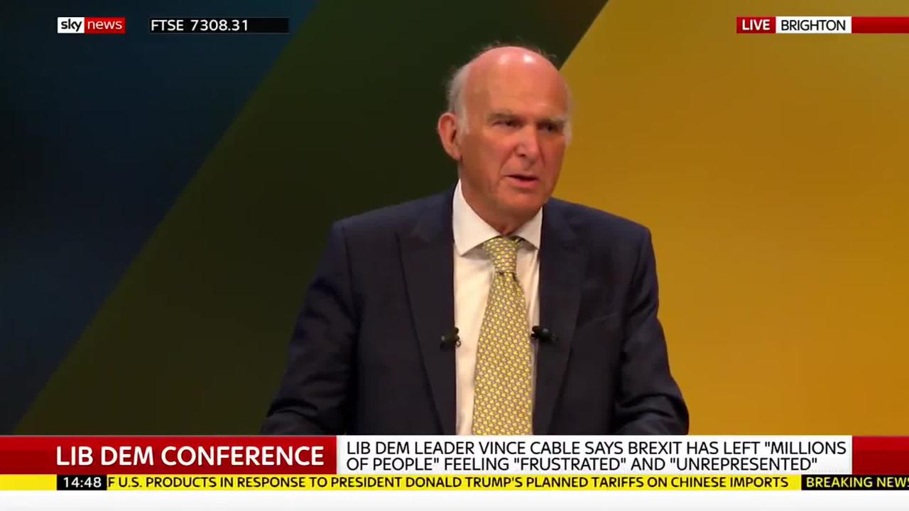 With Vince Cable departing, the Lib Dems need a new vision and a pact with the Independent Group