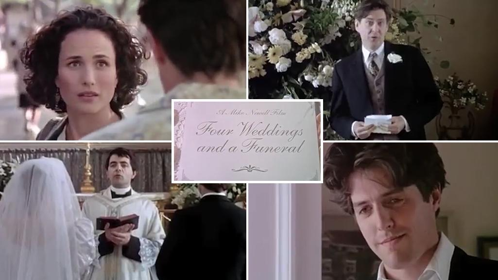Four Weddings And A Funeral Sequel First Look At A Cast Reunion For