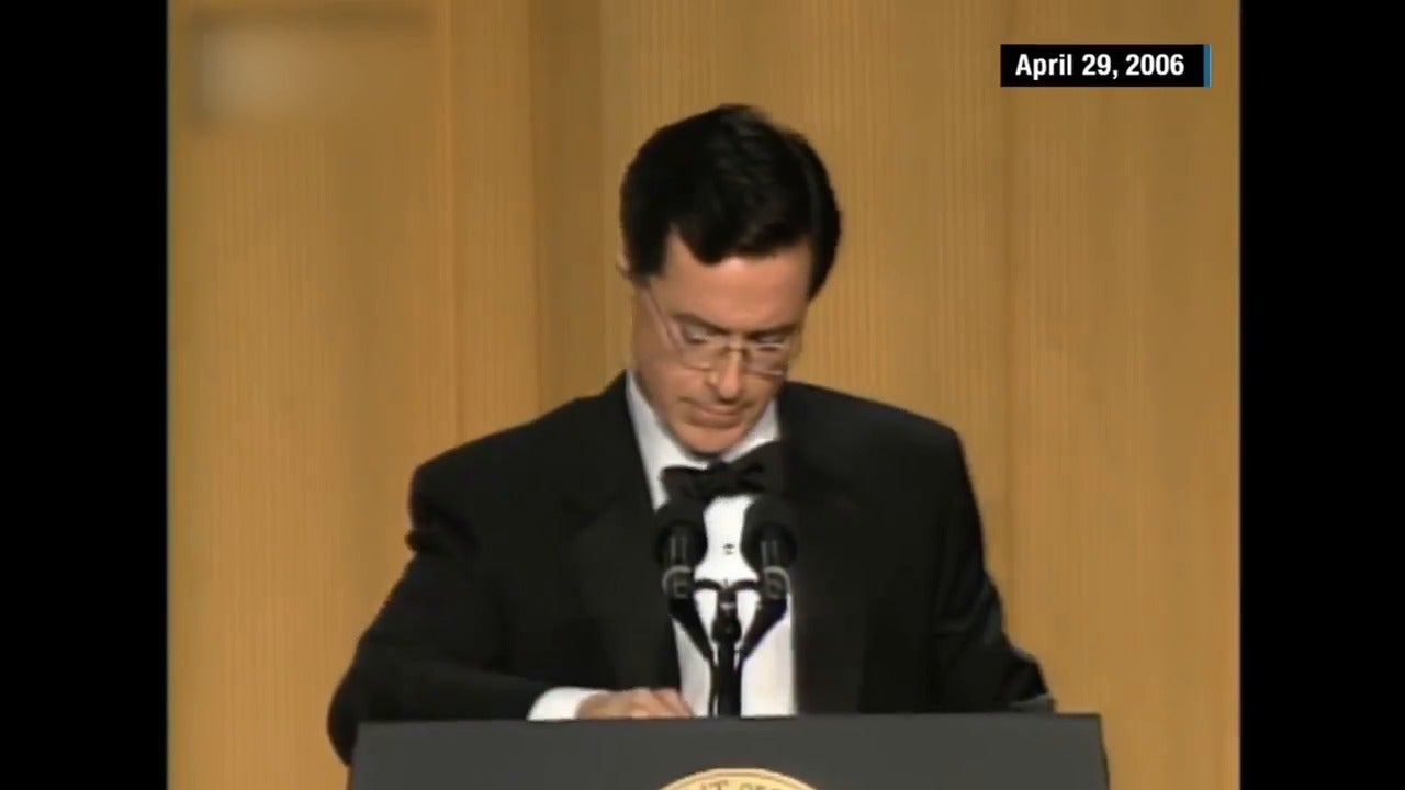Remembering Stephen Colberts 2006 White House Correspondents