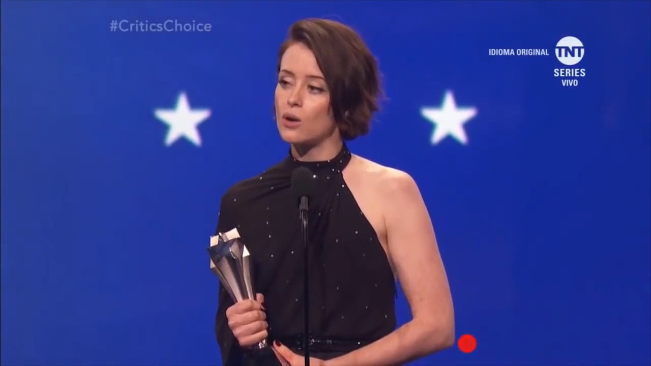 independent.co.uk - Sabrina Barr - Claire Foy brings feminism to Critics Choice Awards with empowering acceptance speech