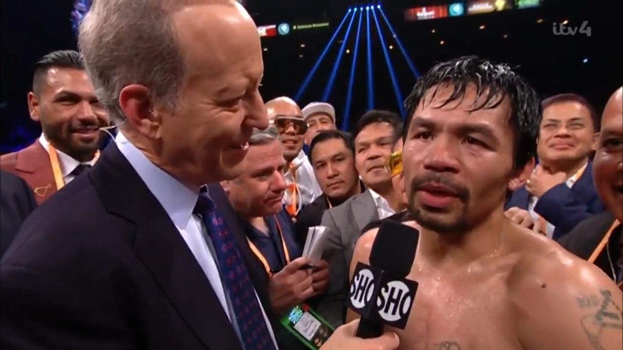 Manny Pacquiao vs Keith Thurman official: Legendary Filipino set for super fight this summer