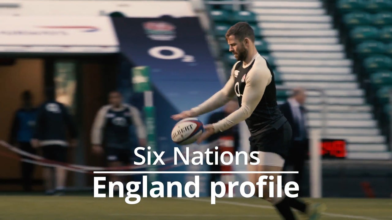 c5a77c753f1 England vs France result: Jonny May scores hat-trick in six-try Six Nations  rout at Twickenham | The Independent