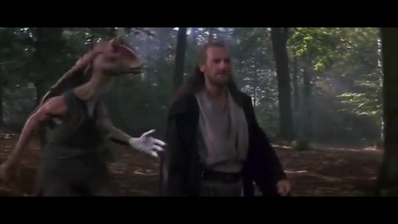 Star Wars director George Lucas says Jar Jar Binks is his favourite character