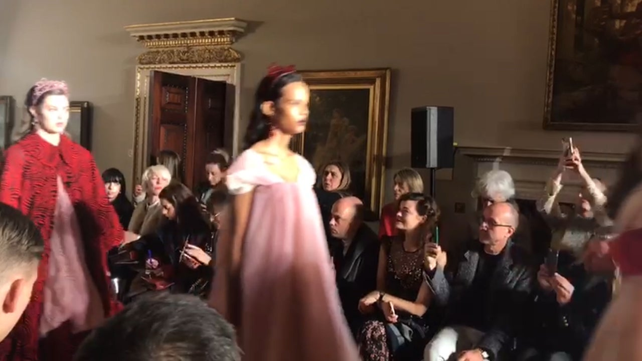 London Fashion Week: From Simone Rocha's princess gowns to Sex Education stars on the Frow, everything that happened on day two