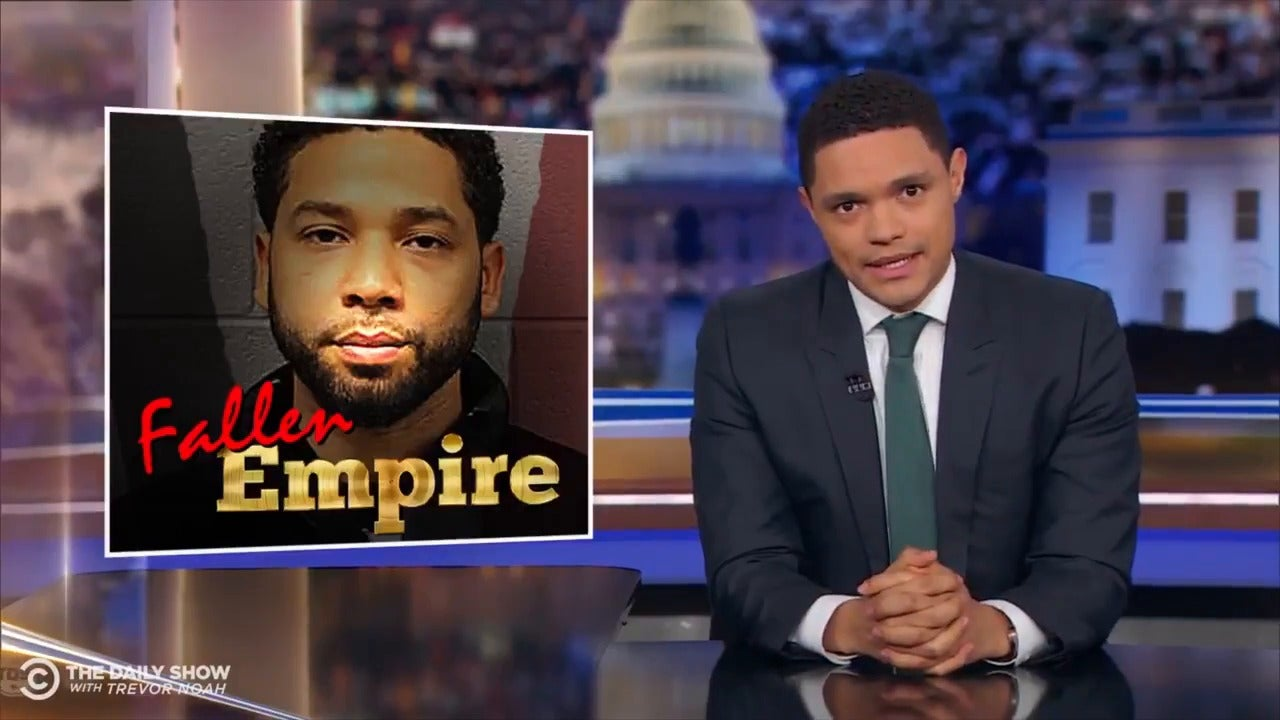 Jussie Smollett: Daily Show host Trevor Noah weighs in on Empire actor's case