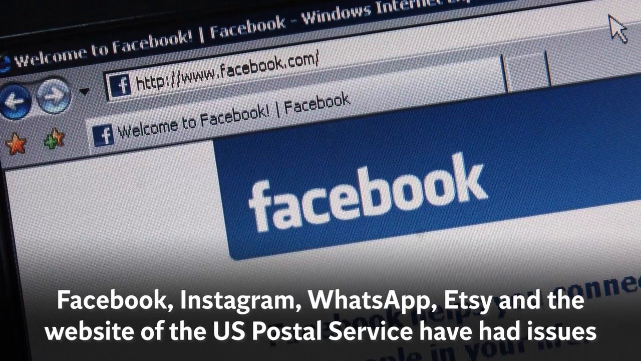 Why are websites and apps not working? WhatsApp, Facebook, Instagram, Etsy and USPS taken down amid major outages