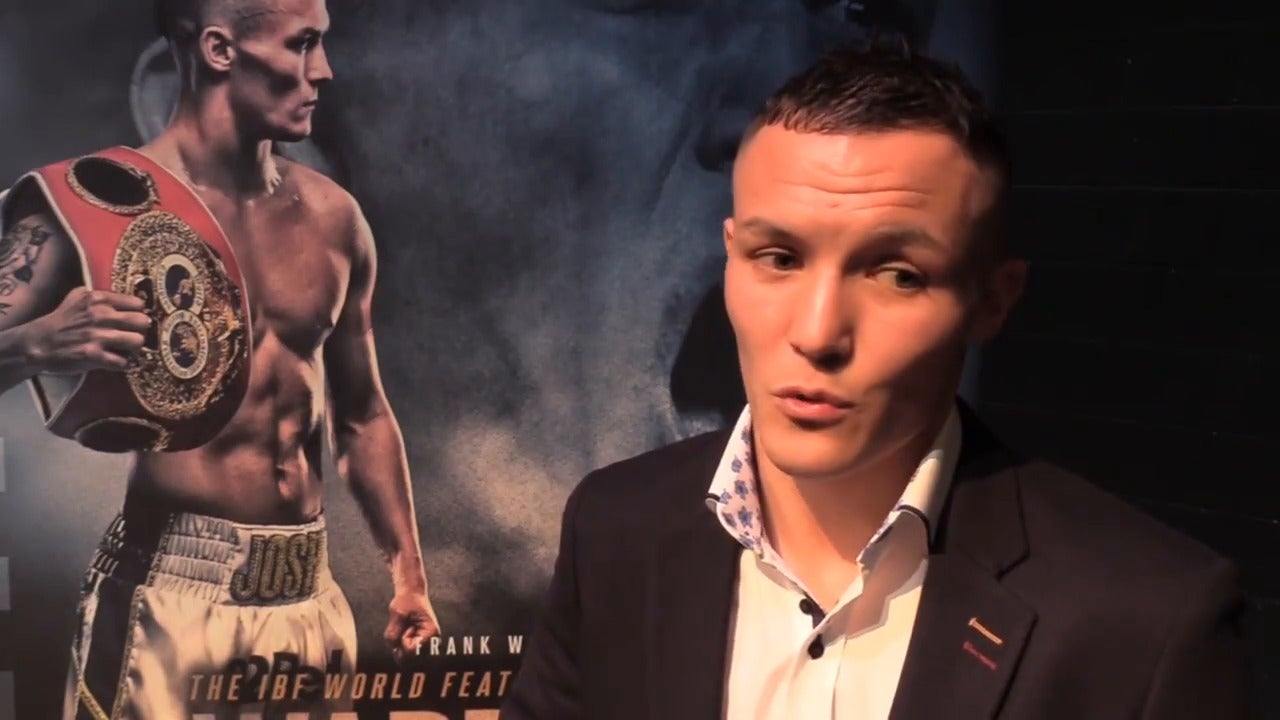 Josh Warrington tells Carl Frampton what he has to do for a rematch