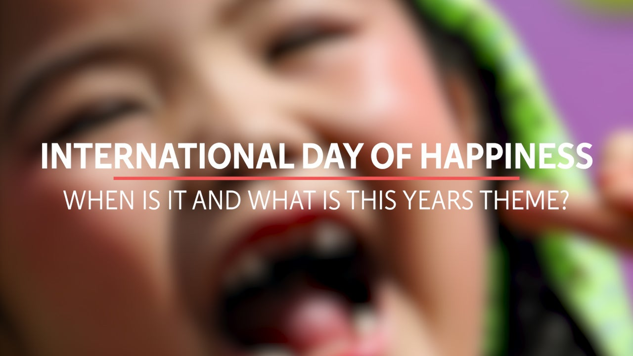 International Day of Happiness takes place today but what is this year's theme?