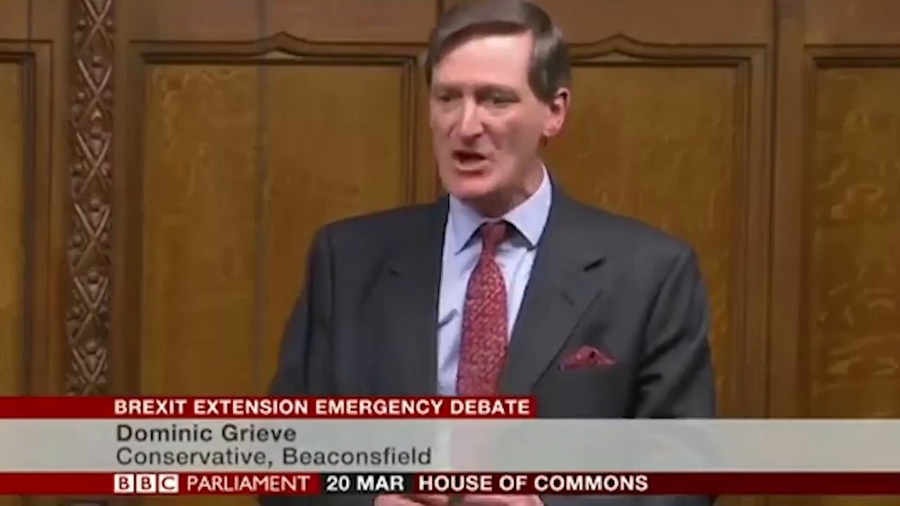 Brexit: Tory MP Dominic Grieve blasts Theresa May's attack on parliament for blocking her deal – 'I'm ashamed to be a Conservative'