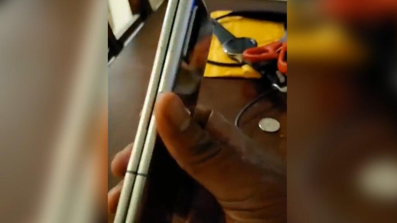 Samsung Galaxy Fold video leak shows ugly crease