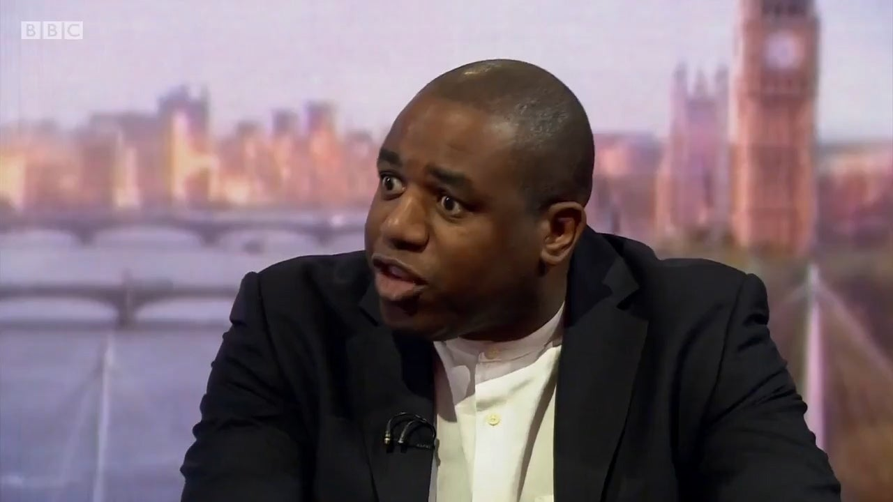 Labour MP David Lammy says his comparison of Tory Brexiteers to Nazis 'wasn't strong enough'