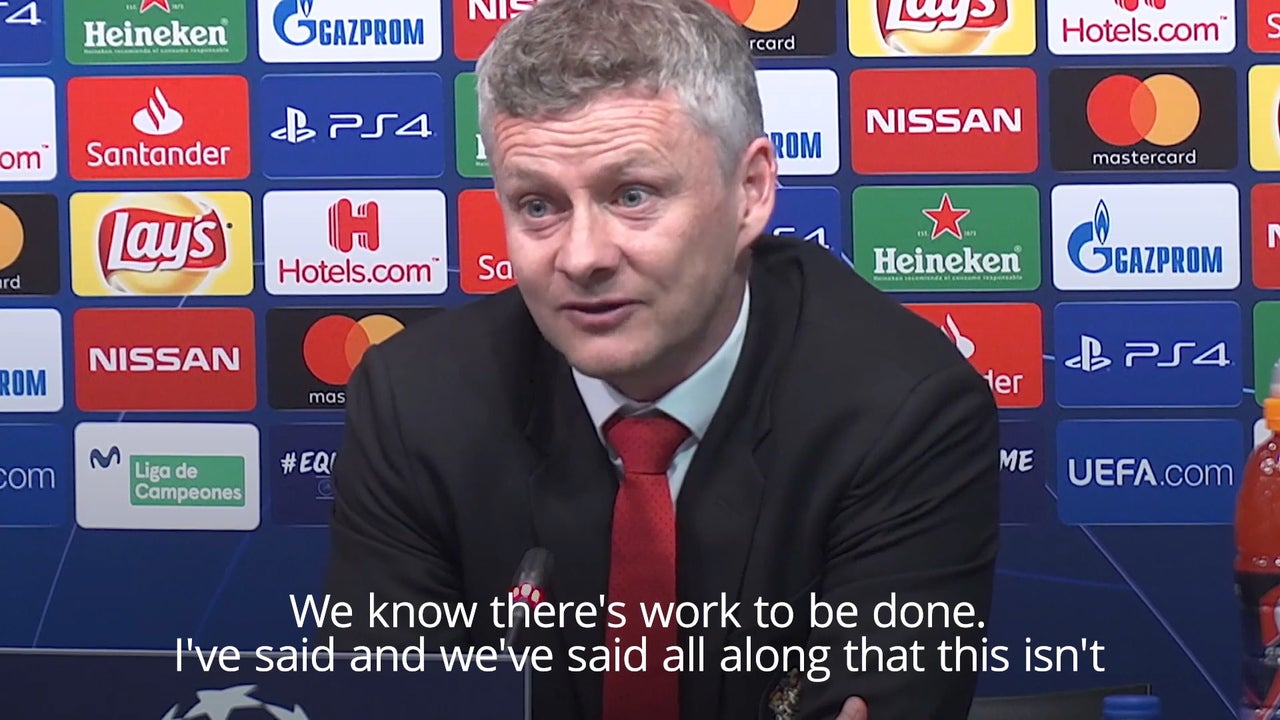 Manchester United: Ole Gunnar Solskjaer says some players need a 'reality check'