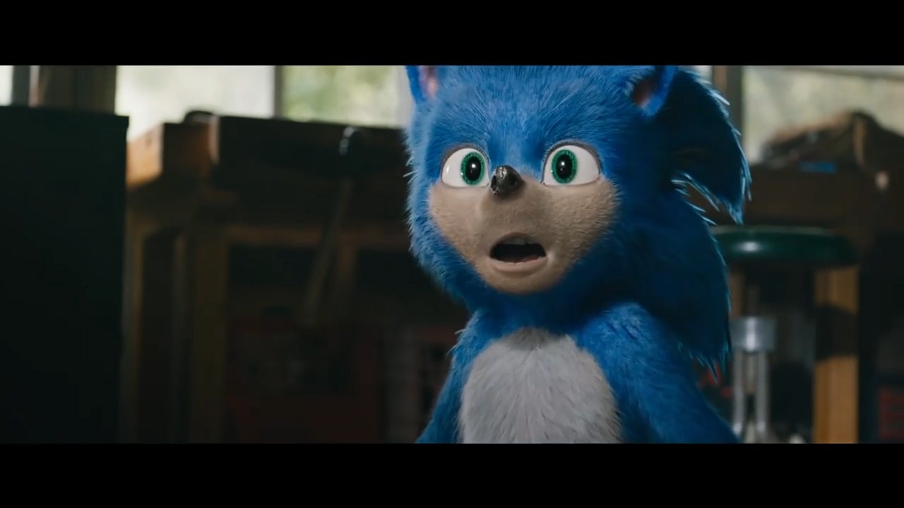 Sonic the Hedgehog trailer: Jim Carrey, James Marsden and Ben Schwartz star in first look at live-action movie