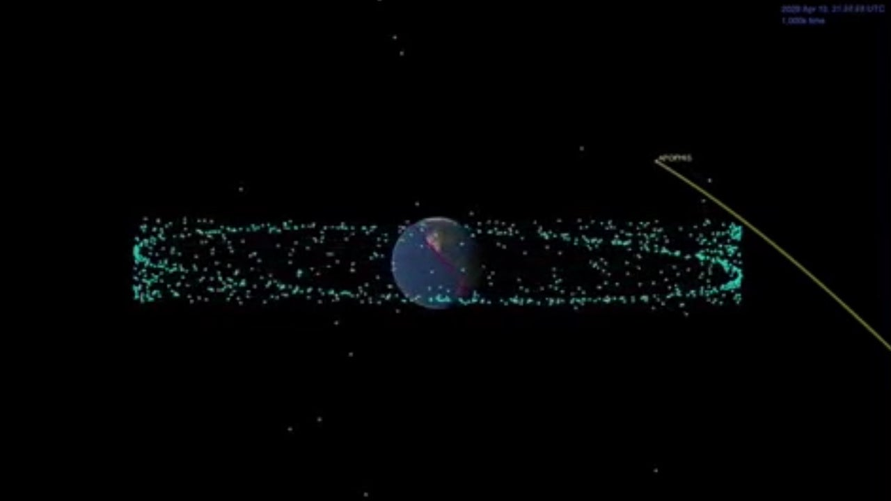 As the 'God of Chaos' asteroid speeds past earth, it may end up protecting us from more dangerous foes to come
