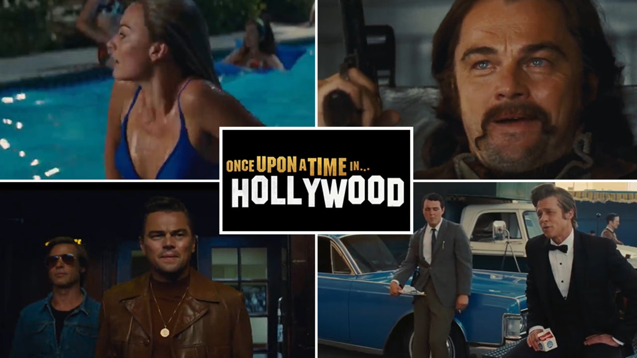 Once Upon a Time in Hollywood: Leonardo DiCaprio appears on stylish fake movie posters