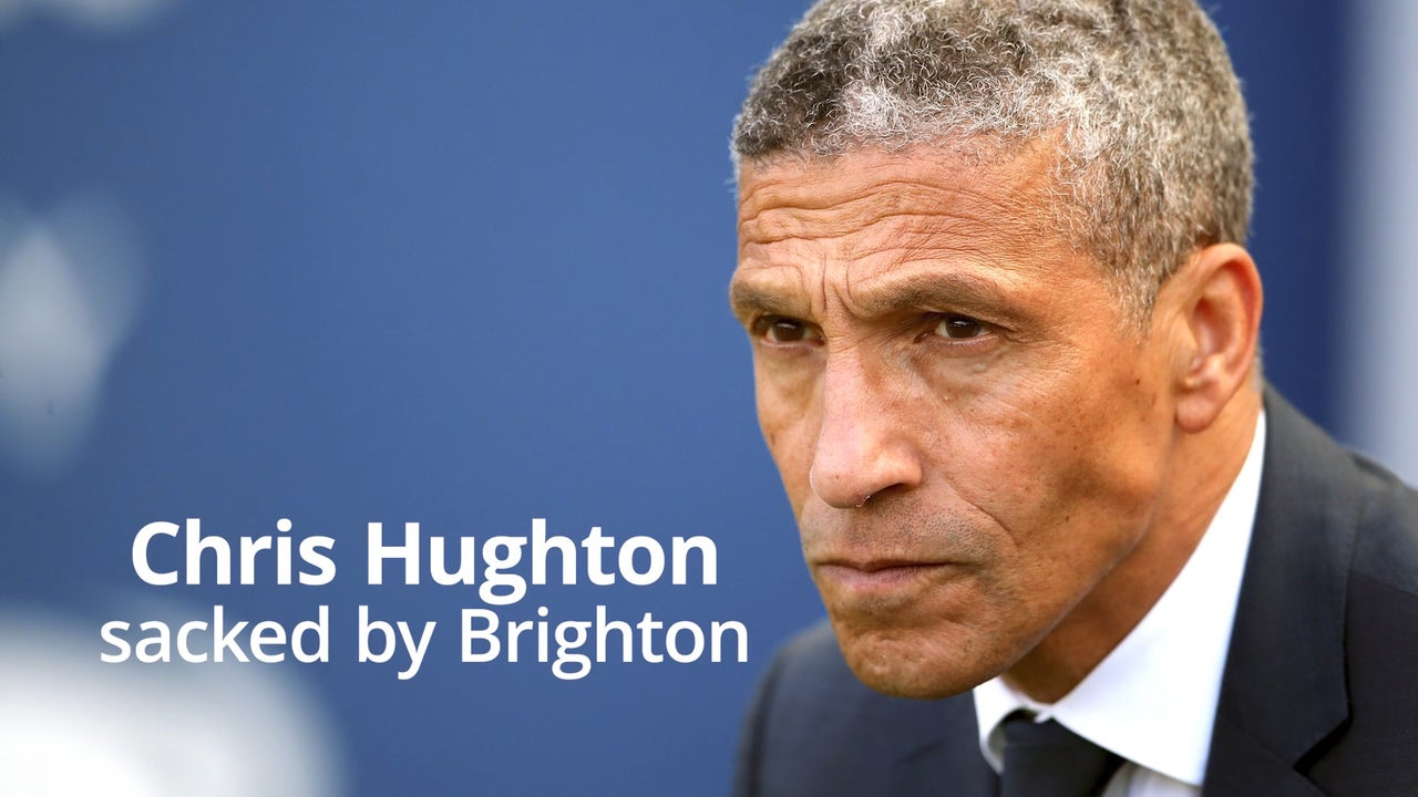 Brighton and Hove Albion: Chris Hughton reveals he was 'surprised and disappointed' after Seagulls sacking