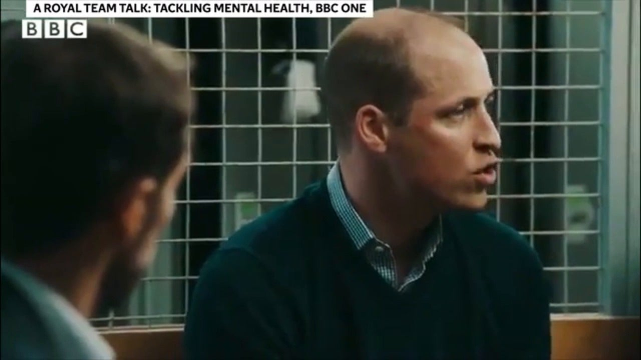 Prince William documentary sparks important conversation about mental health and male suicide