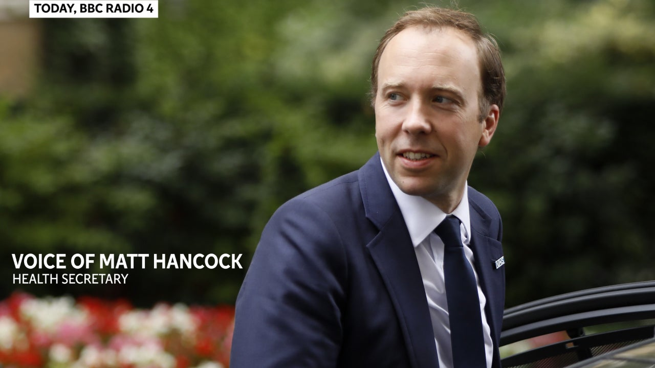 Matt Hancock says 'lots of people' are urging him to stand as Conservative leader - despite poor grassroots approval