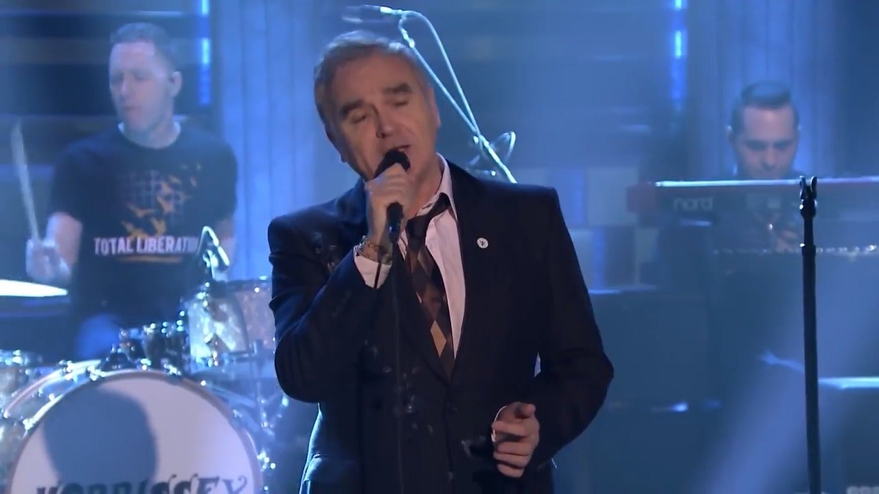 Morrissey praised by far-right party leader for 'support' after wearing badge at New York gig