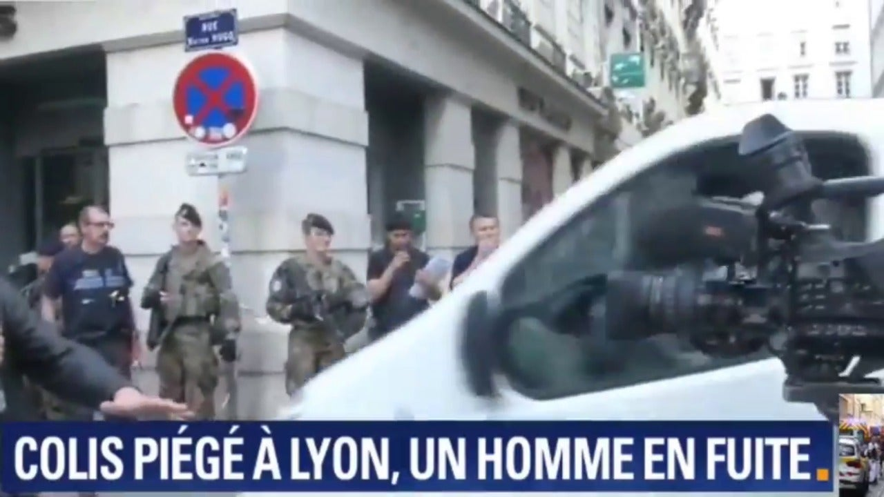 Lyon explosion: Seven injured in French city centre