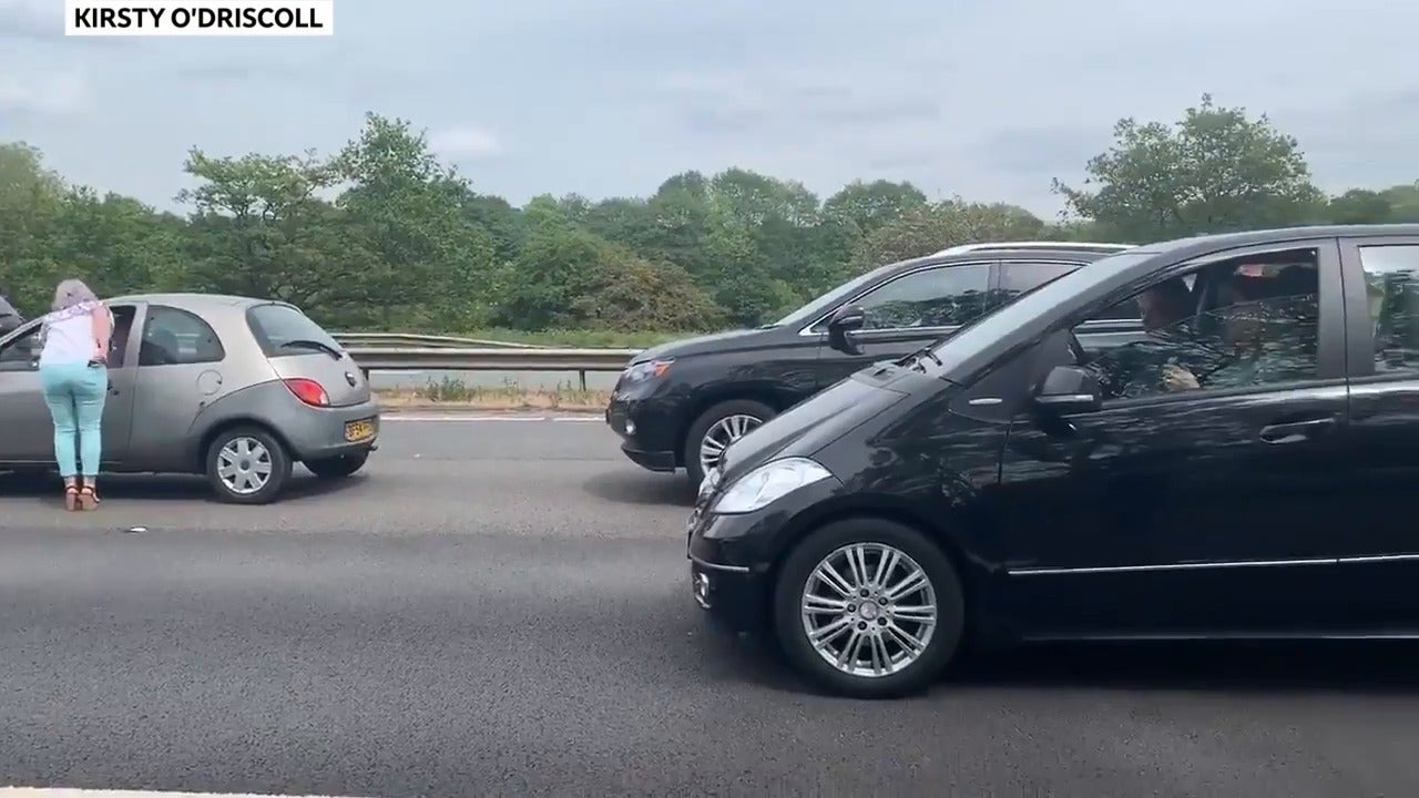 M6 motorway brought to near standstill after 'serious' accident