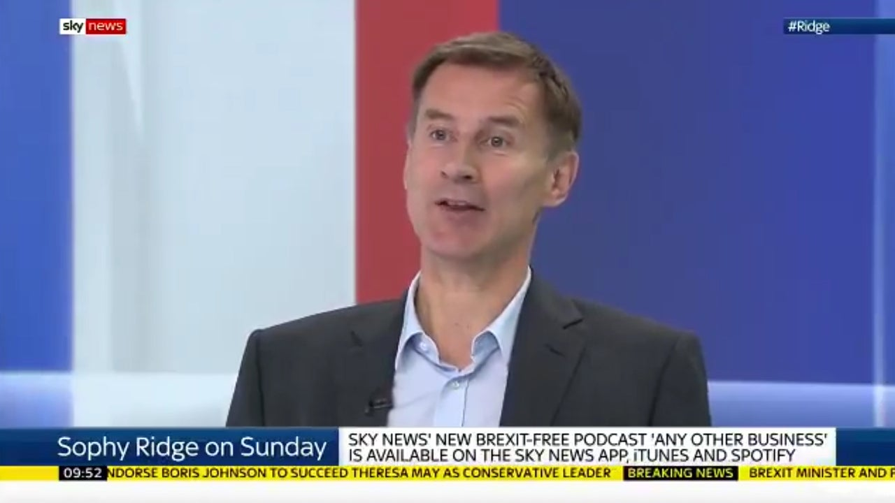 Jeremy Hunt's position on abortion isn't simply 'personal' – it's a blatant political attempt to win votes