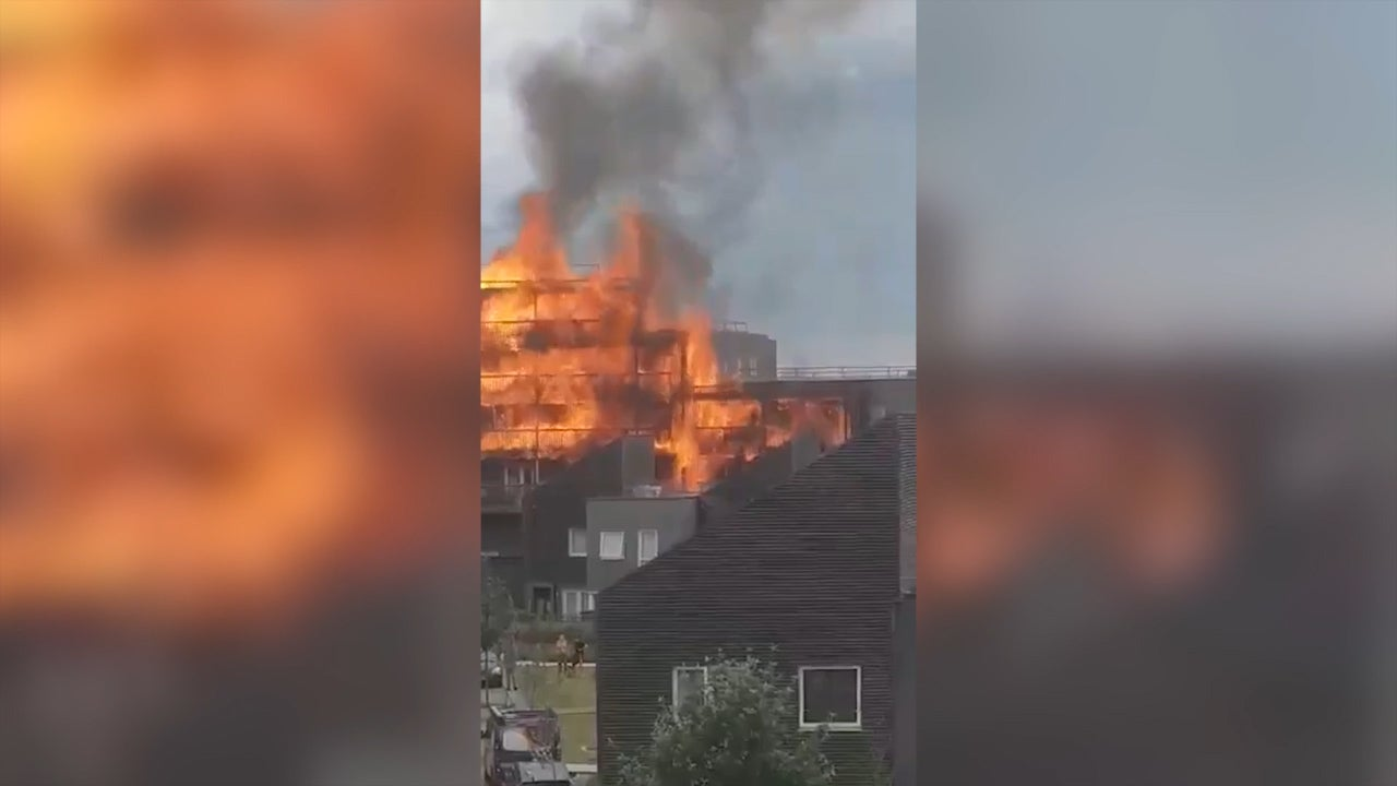 Barking fire: Safety fears at flats ruined by blaze were first raised after Grenfell, say residents