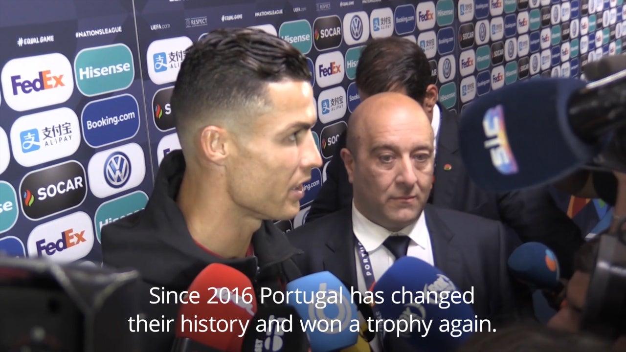 Joao Felix transfer news: When I stood next to Cristiano Ronaldo, it felt like I was living in a video game