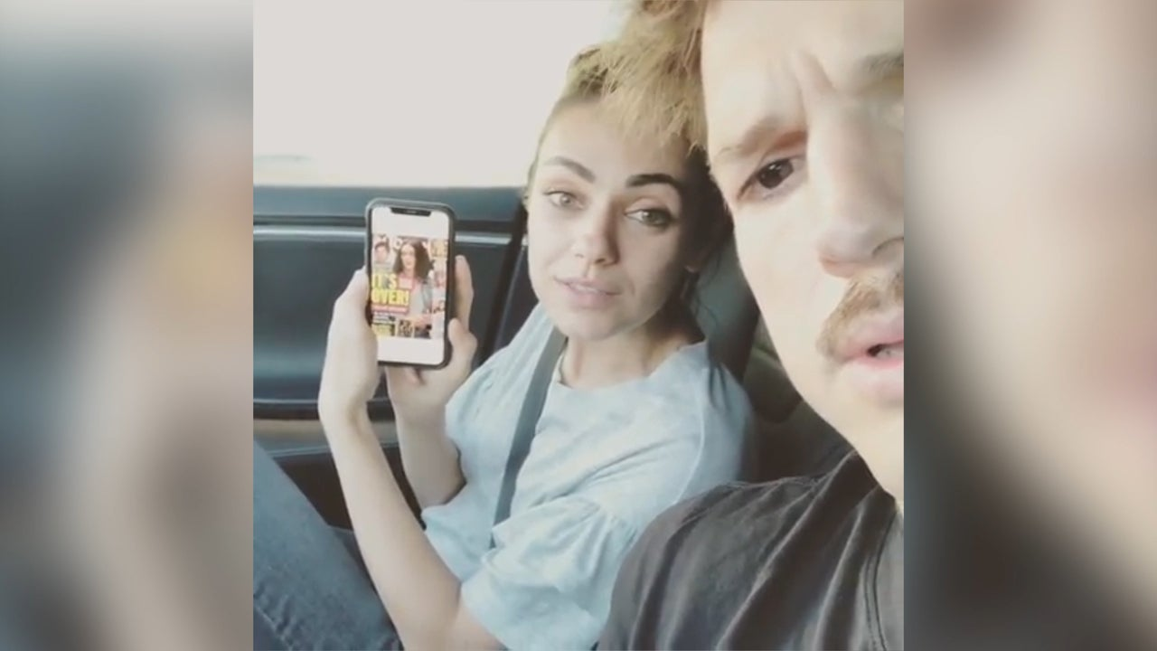 Ashton Kutcher and Mila Kunis mock break-up rumours with hilarious Instagram video