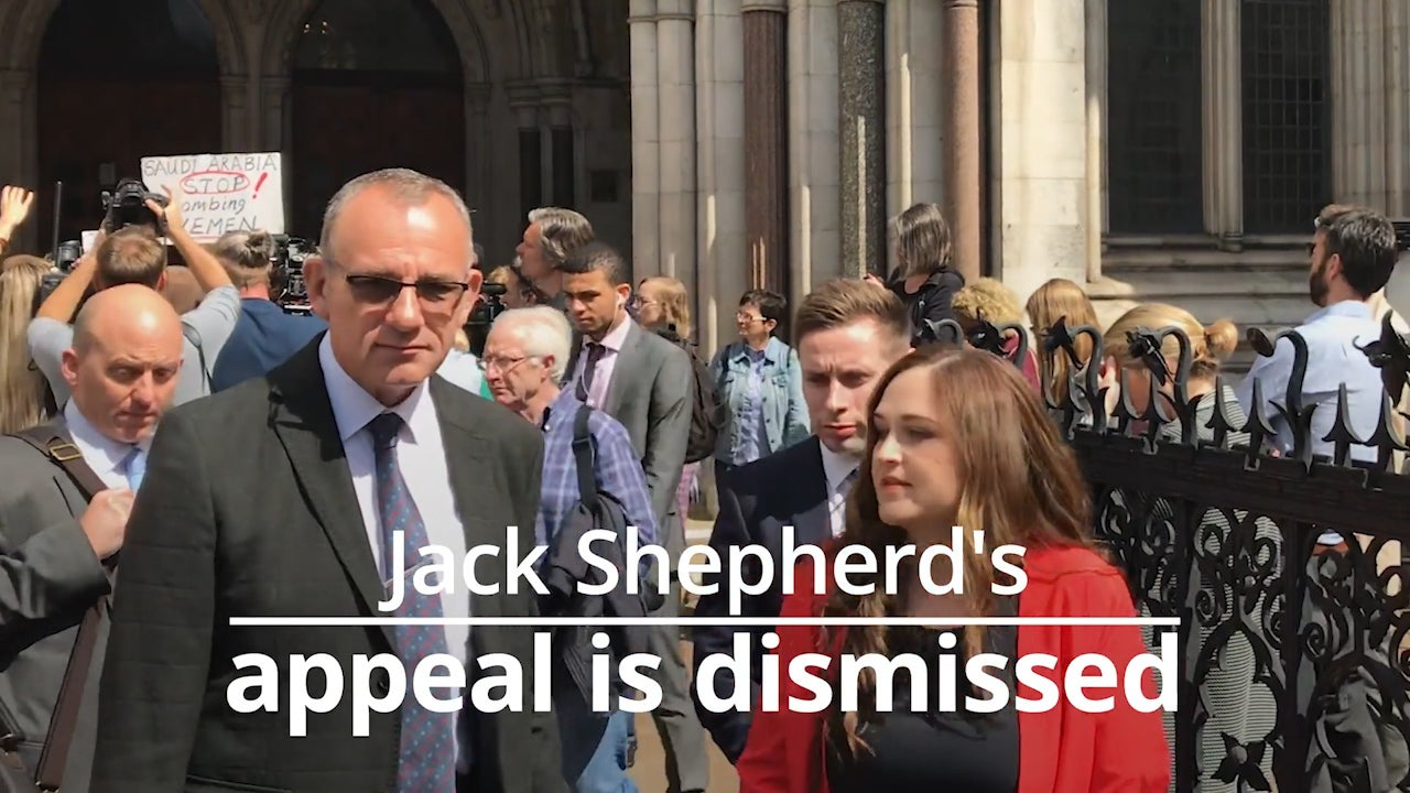 Jack Shepherd: Speedboat killer allowed to flee justice 'without consequence' as judges quash bail conviction