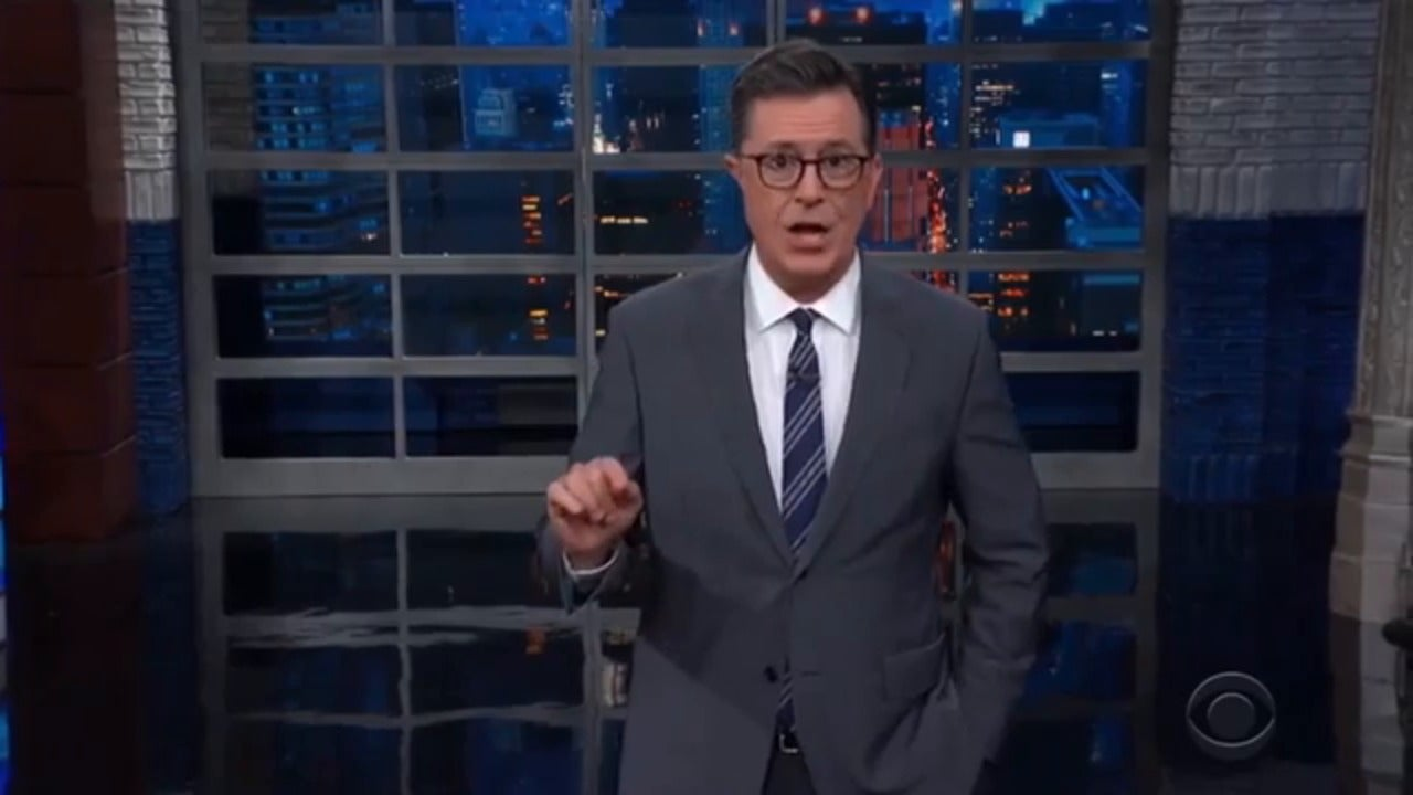 Stephen Colbert condemns Donald Trump after rape allegation by author E Jean Carroll