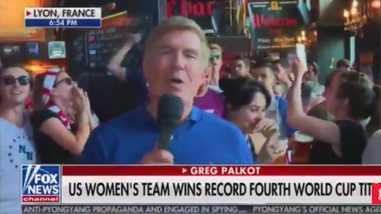 Fox News broadcast interrupted by US fans chanting 'f*** Trump' amid…