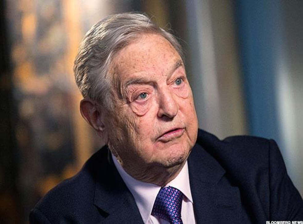 """Financier George Soros said he was """"deeply troubled"""" by the increase in hate crime reports"""