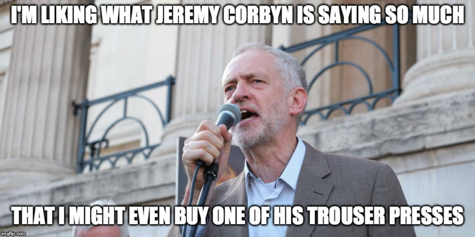 Some Of The Best Or The Worst Corbyn Memes Depending On Your