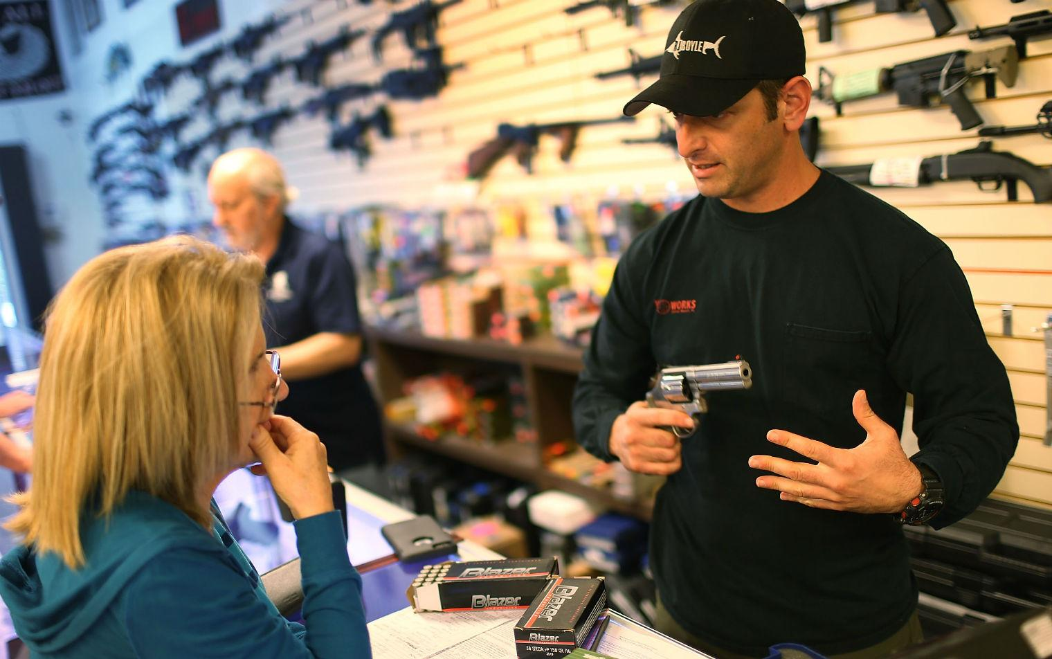 There are more gun shops in the US than Starbucks