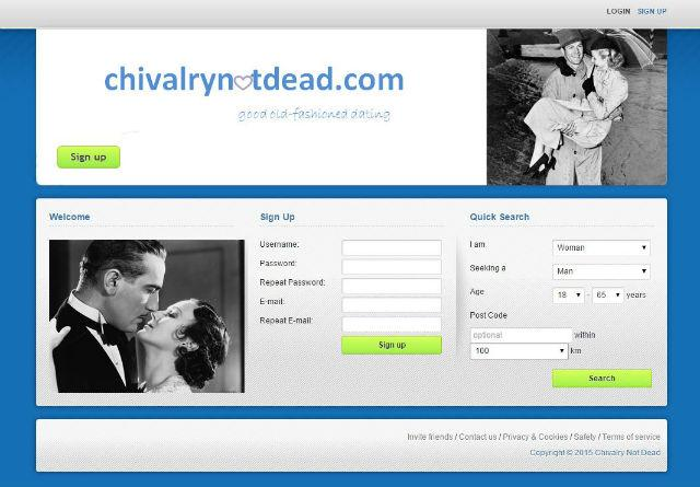 public safety dating website