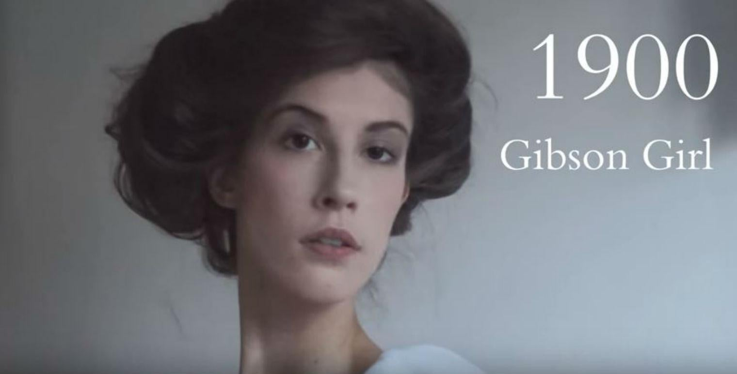 100 years of female beauty trends: the realistic version