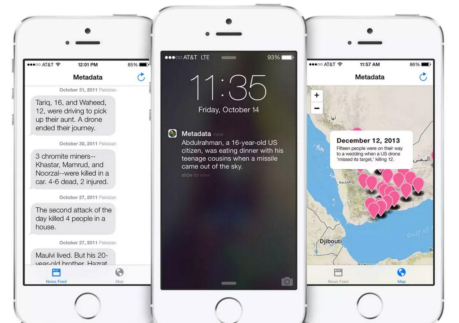 Drone strike news app removed from App Store for ridiculous reasons