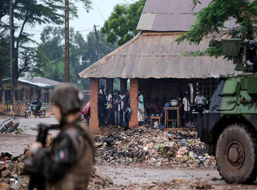UN operations in the Central African Republic