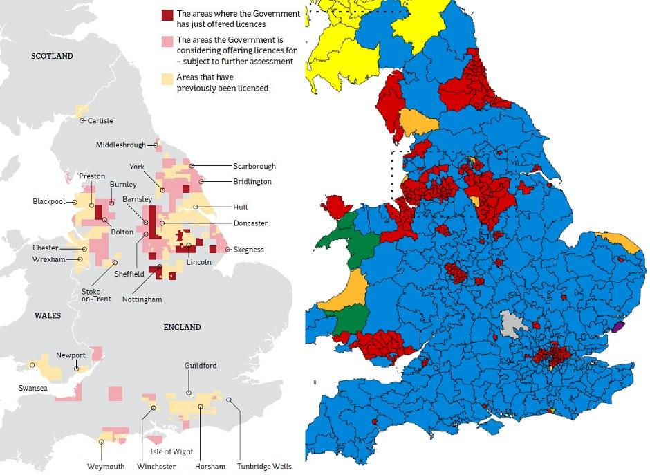Guilford England Map.There S Something Not Quite Right About The New Fracking Map Of The