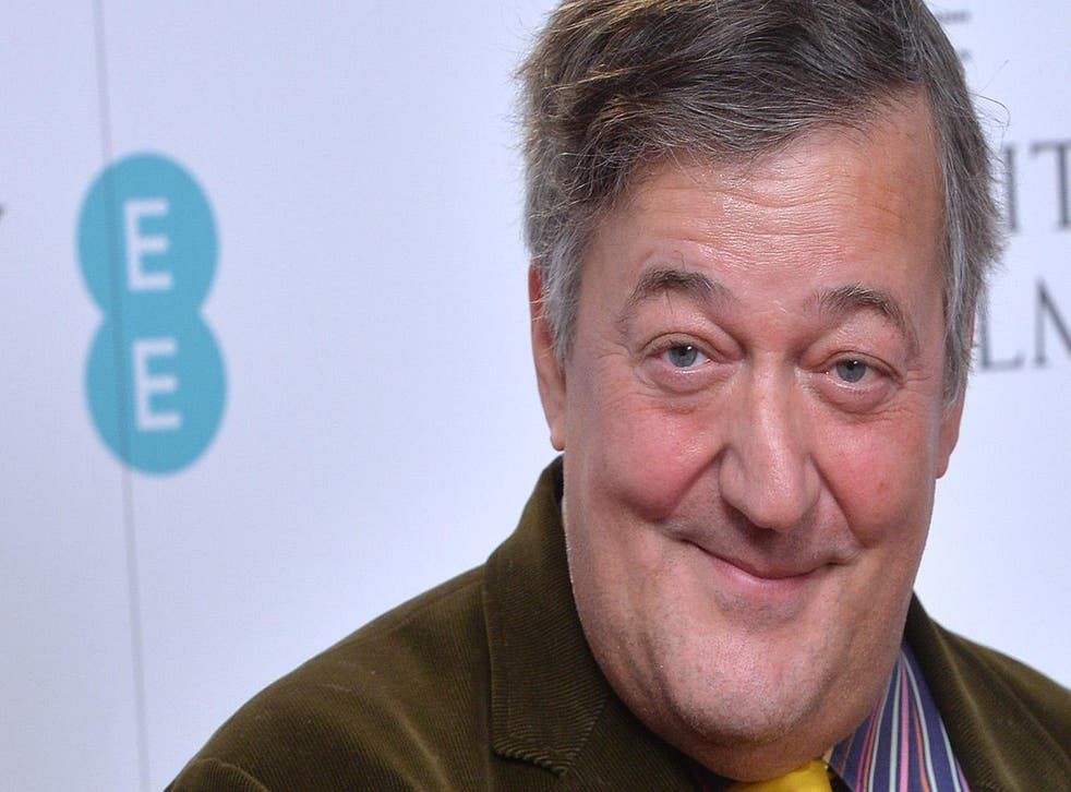 Stephen Fry was among those cited on the list