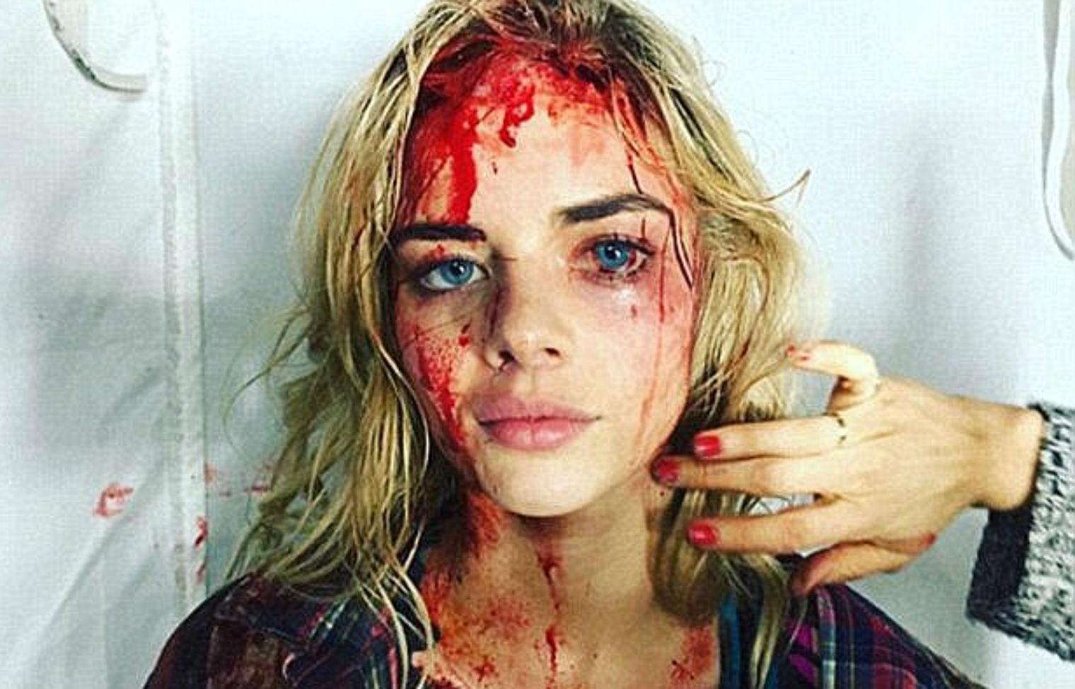 There S A Problem With This Photo Of A Beaten Up Female Trump