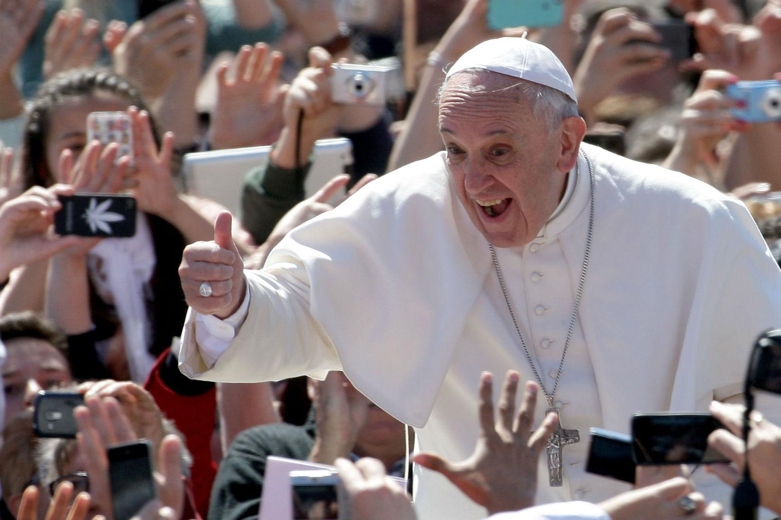 Pope Francis is dropping a prog rock album  Yes, really