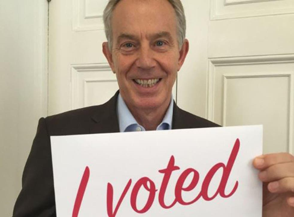 Picture: Tony Blair/Twitter