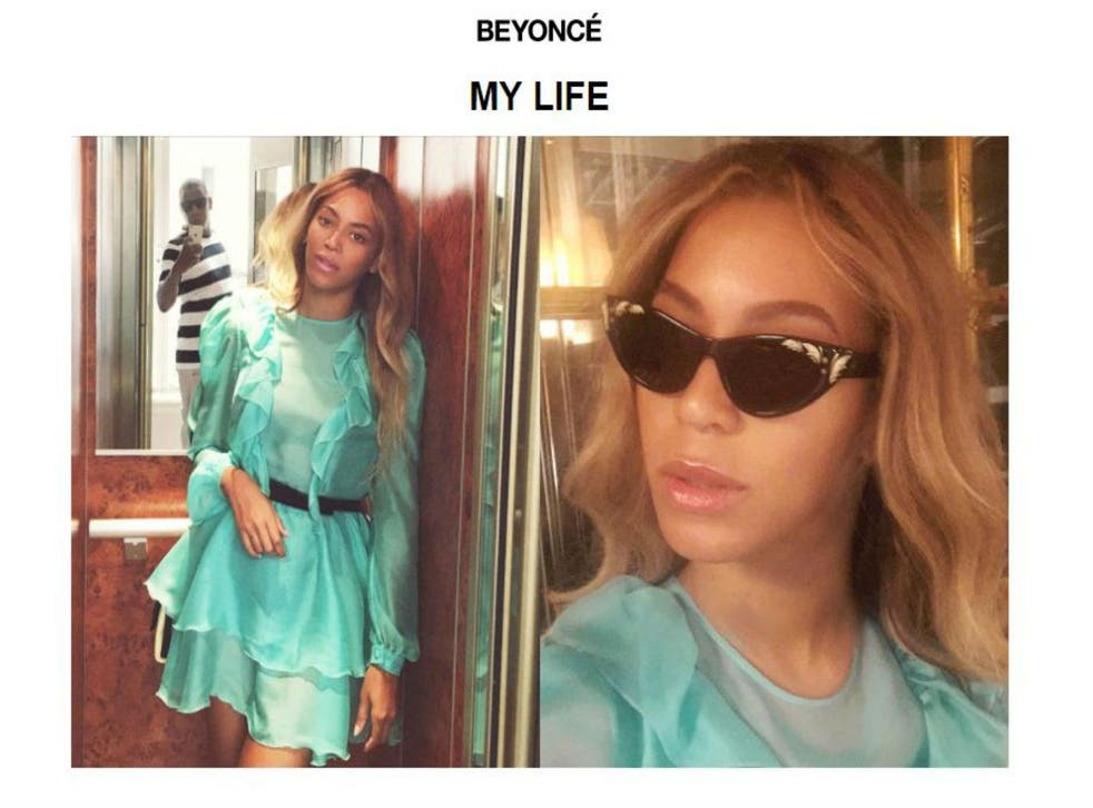 Picture: Beyonce.com