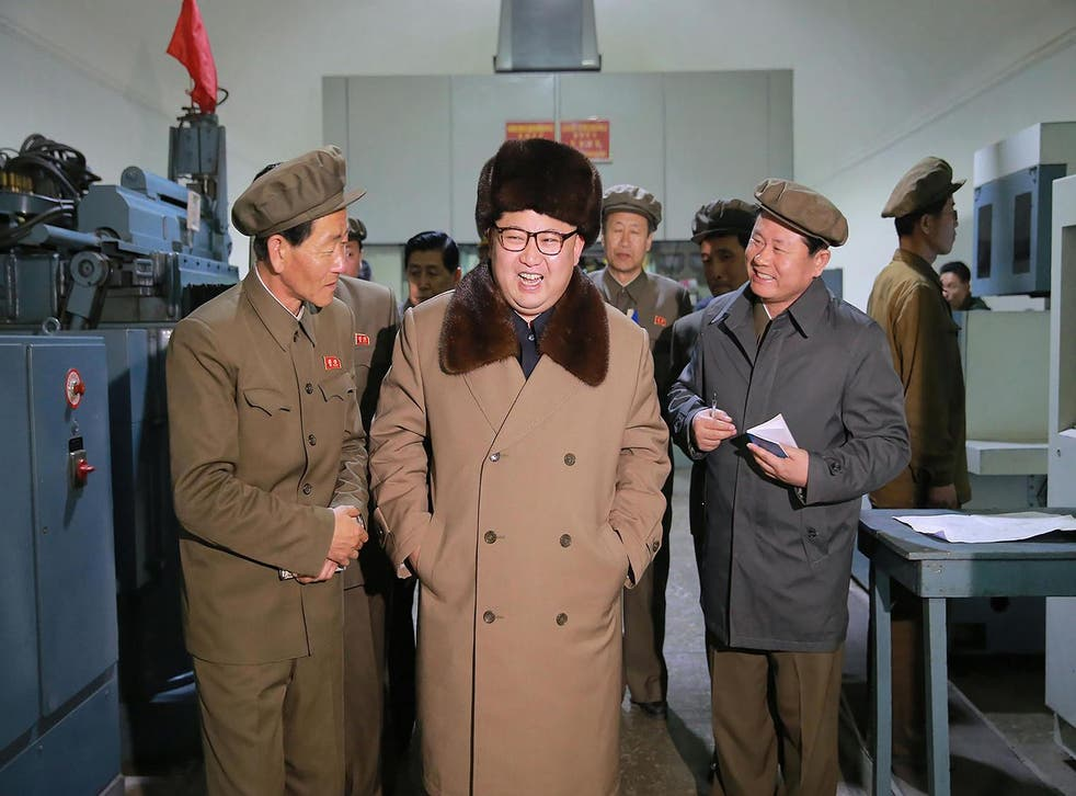 Picture: KCNA/AFP/Getty Images